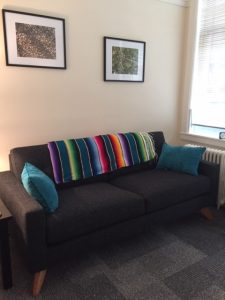 SF Psychotherapy couch